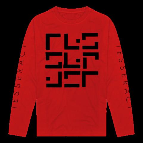 √Glyph Red/Black von TesseracT - Long-sleeve jetzt im TesseracT Shop